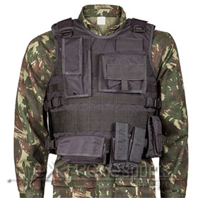 Colete T�t. Modular Black Armour RipStop - GG